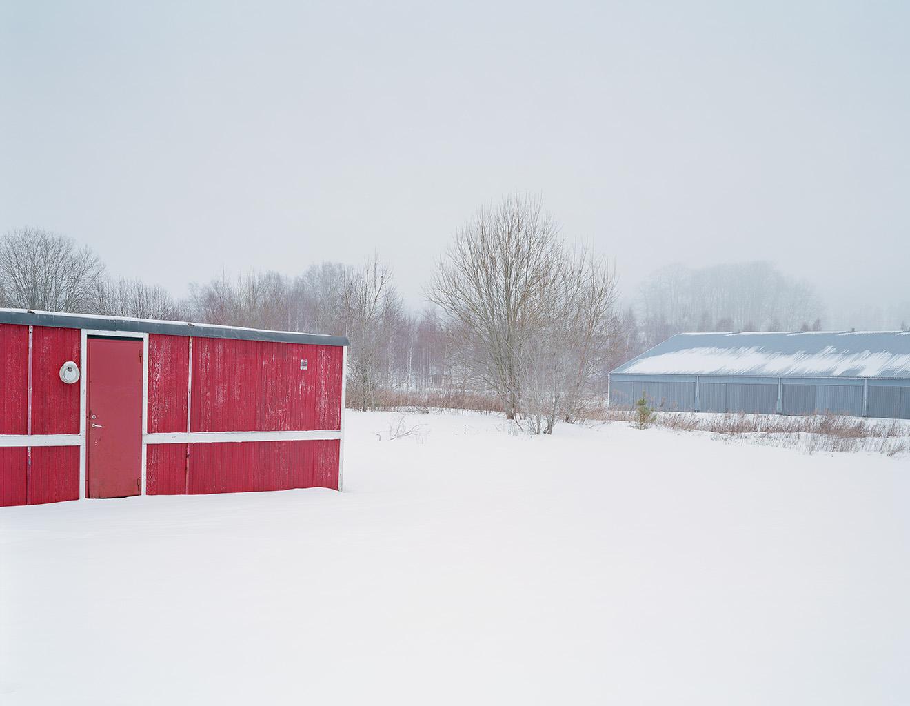 Sawmill area, Hökerum, 13 February 2006