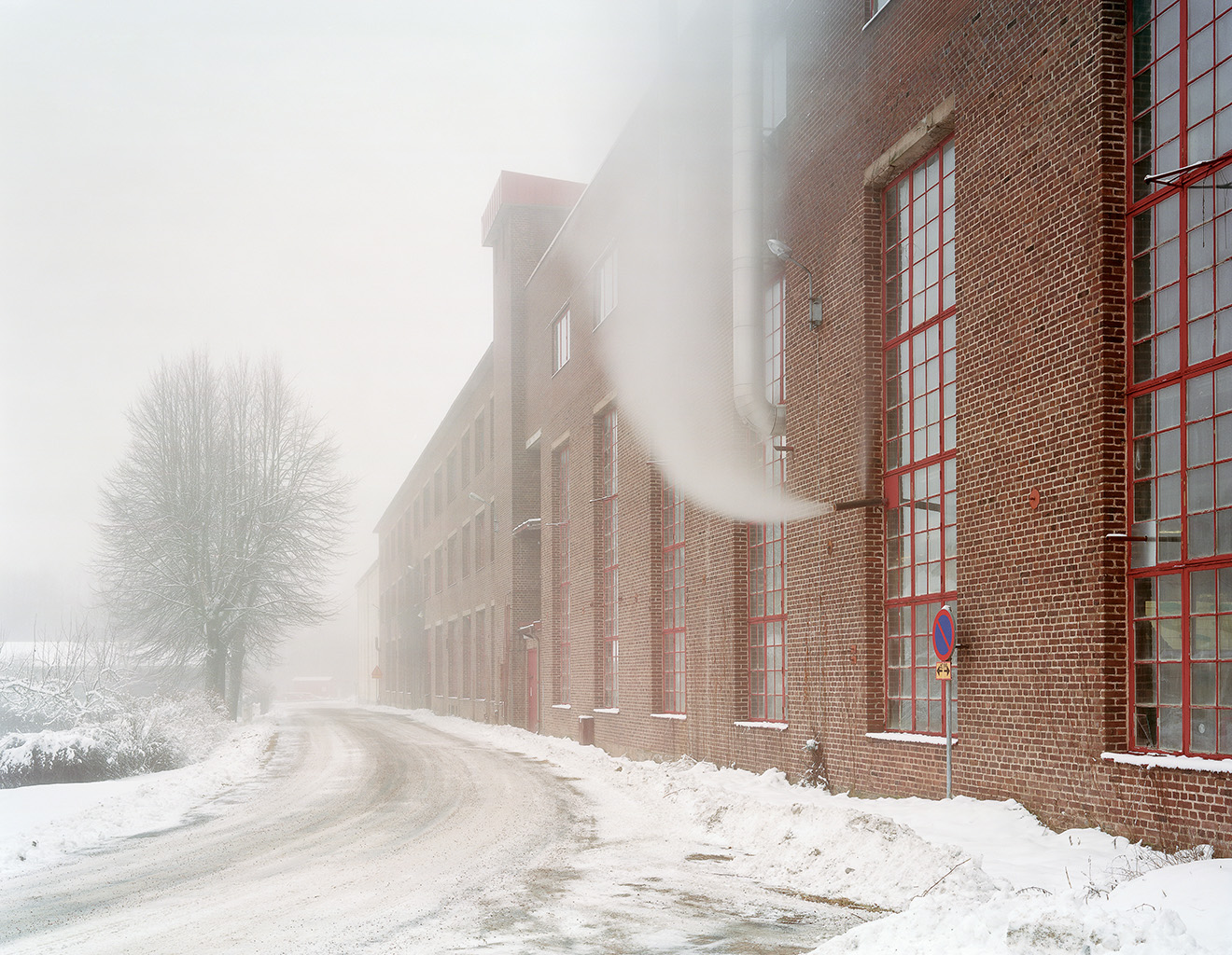 Factory building, Rydboholm, 7 January 2004