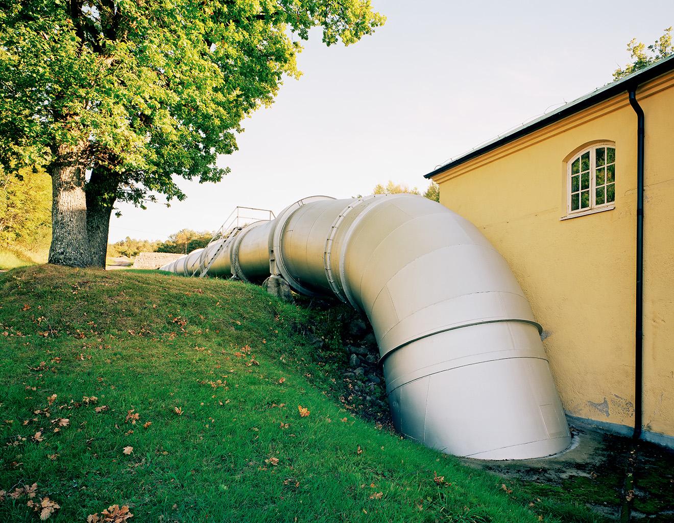 Kungsfors power station, 30 September 2003