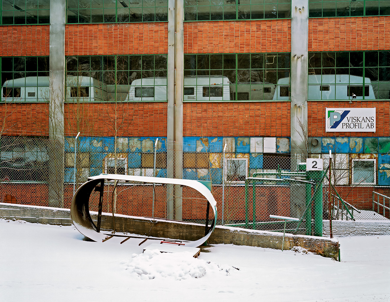 Former rubber factory, Svaneholm, 2 January 2003