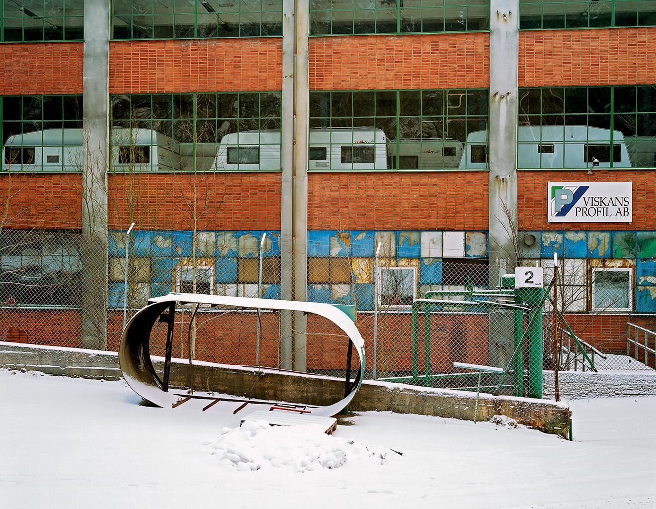 Former rubber factory, Svaneholm, 2 January 2003
